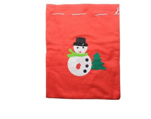 Xmas Hanging Snowman Ornament Christmas Party Decor Children Gift Candy Gift Bag