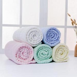 Large Cotton Baby Infant Newborn Washcloth Bath Towel Bathing Feeding Wipe Cloth