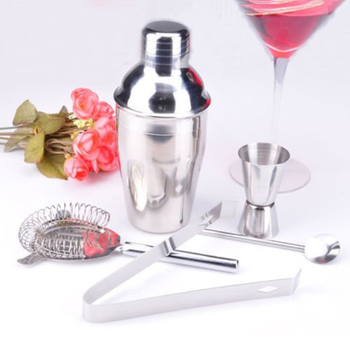Pro Round handle Stainless Steel Bar Long Handle Spoon , bartending tool DIY New