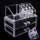 24 Lipstick Holder Clear Acrylic Display Cosmetic Organizer Makeup Case New