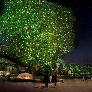 Christmas Projector Laser Lawn Lighten Landscape Outdoor Garden Light Waterproof