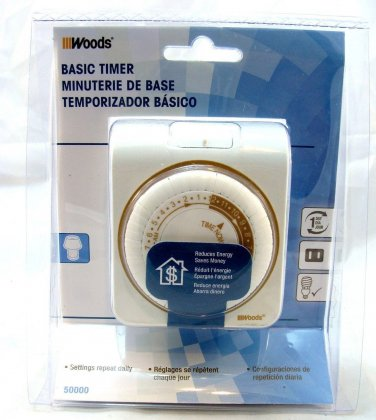 Woods 50000 Electric auto timer