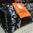 EASY RIDER's CHARLIE Sport Collection Pet Dog Cat Carrier TOTE,M,Black/White NWT