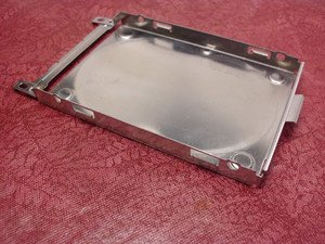TESTED LAPTOP HARD DRIVE HDD CADDY UNKNOWN BUT HP MAYBE? GREAT SOLID COND.