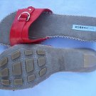 PRETTY SAG HARBOR WOMEN'S SHOES 6M LANA SUMMER SANDALS RED NICE NEW