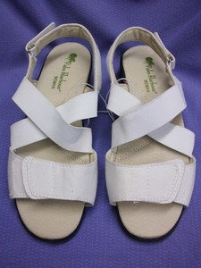 SEXY COMFY PALM HARBOUR WOMAN OPEN TOES ESPADRILLES WOMEN'S SHOES, 9, WHITE, NEW
