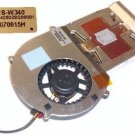 TESTED Gateway W340UA MT3423 Cooler CPU Heatsink & Fan B1425028G00001 Works GRT!