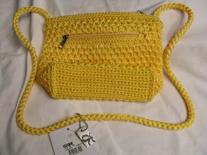 BAG LINA Cute Girls Womens  Fashion Bag Handbag Yellow Retail $28 @ kohls NEW!