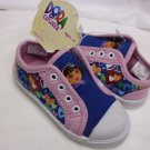 DORA THE EXPLORER GIRLS TODDLER SPORTS SHOES PINK/BLUE 5/6 AGE 2+ NWT
