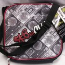 "SK8ER CLUB Insulated Lunch Box Bag Black/White Meas. 8.5 x 8.5"" NWT  Rugged cool"