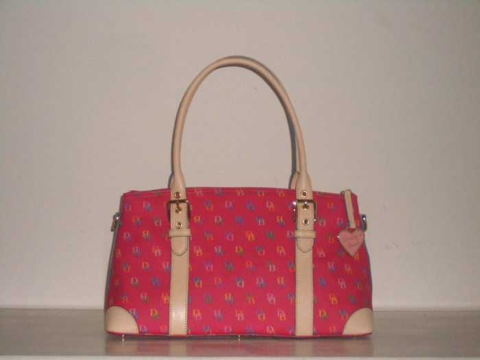 NWT DOONEY AND BOURKE IT DOMED SATCHEL BAG