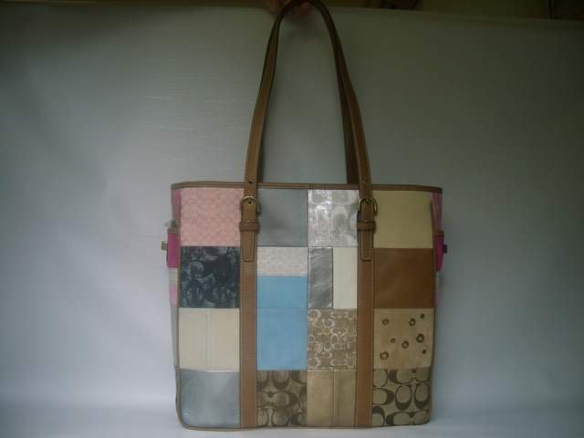 Authentic Coach Patchwork Large Tote