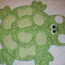 Turtle baby blanket