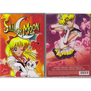 Sailor Moon - The Complete Uncut Season 1 DVD Set