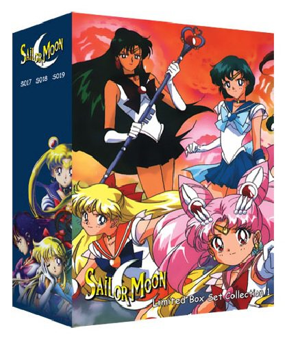Sailor Moon - Limited Edition DVD Box Set 1 - Uncut Season 1, 2, 3�