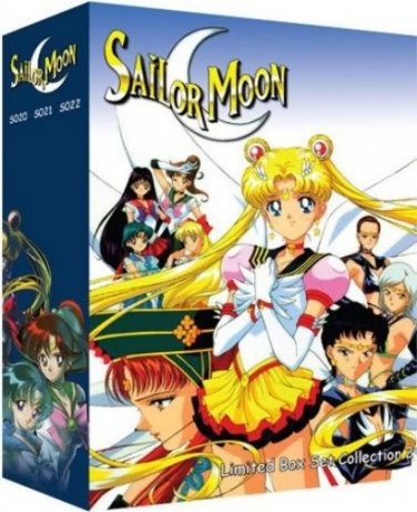 Sailor Moon - Limited Edition DVD Box Set 2 - Uncut Season 4, 5 and Movies�