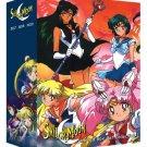 Sailor Moon - Limited Edition DVD Box Set 1 - English Season 1, 2, 3