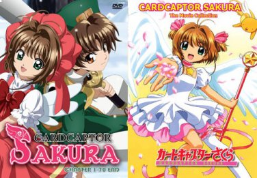 Cardcaptor Sakura - The Complete Anime Series + Movies DVD Set