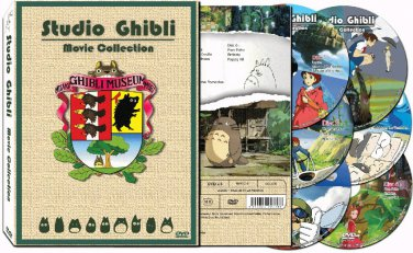 Studio Ghibli - All 17 Films - The Complete Movie Collection DVD Set