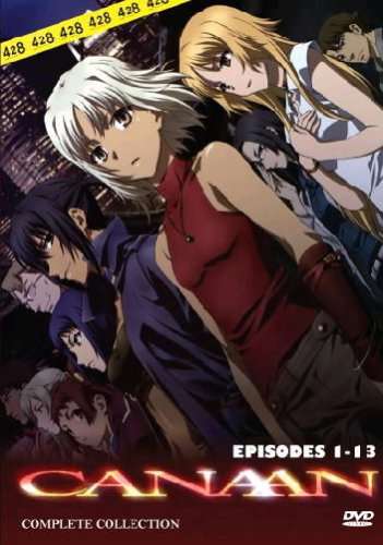 Canaan - The Complete Anime Series DVD Set