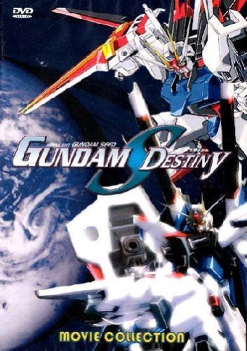 Mobile Suit Gundam Seed Destiny - The Complete Movie DVD Set Collection - All 4 Movies