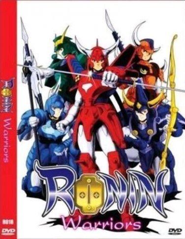 Ronin Warriors - The Complete Anime Series + OVA DVD Set Collection