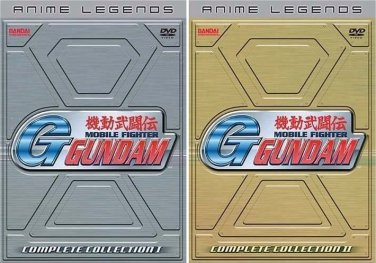 Mobile Fighter G-Gundam - Anime Legends - The Complete Anime Series Collection - Collection 1 and 2