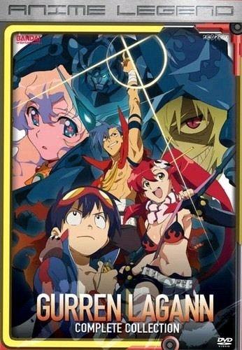 Gurren Lagann - Anime Legends - The Complete Anime Series DVD Set Collection
