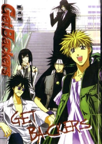 Get Backers - The Complete Anime Series DVD Set