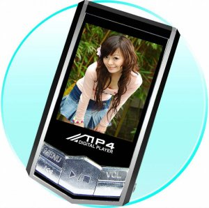 Cool Design Mp3/Mp4 Player - 2GB - 1.8 Inch Screen