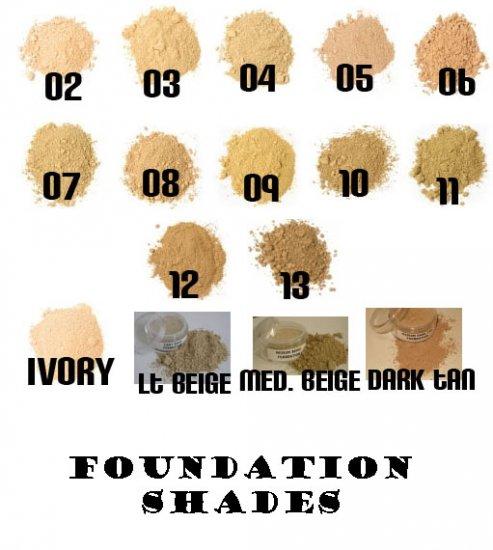 10 Gram Mineral Foundation.