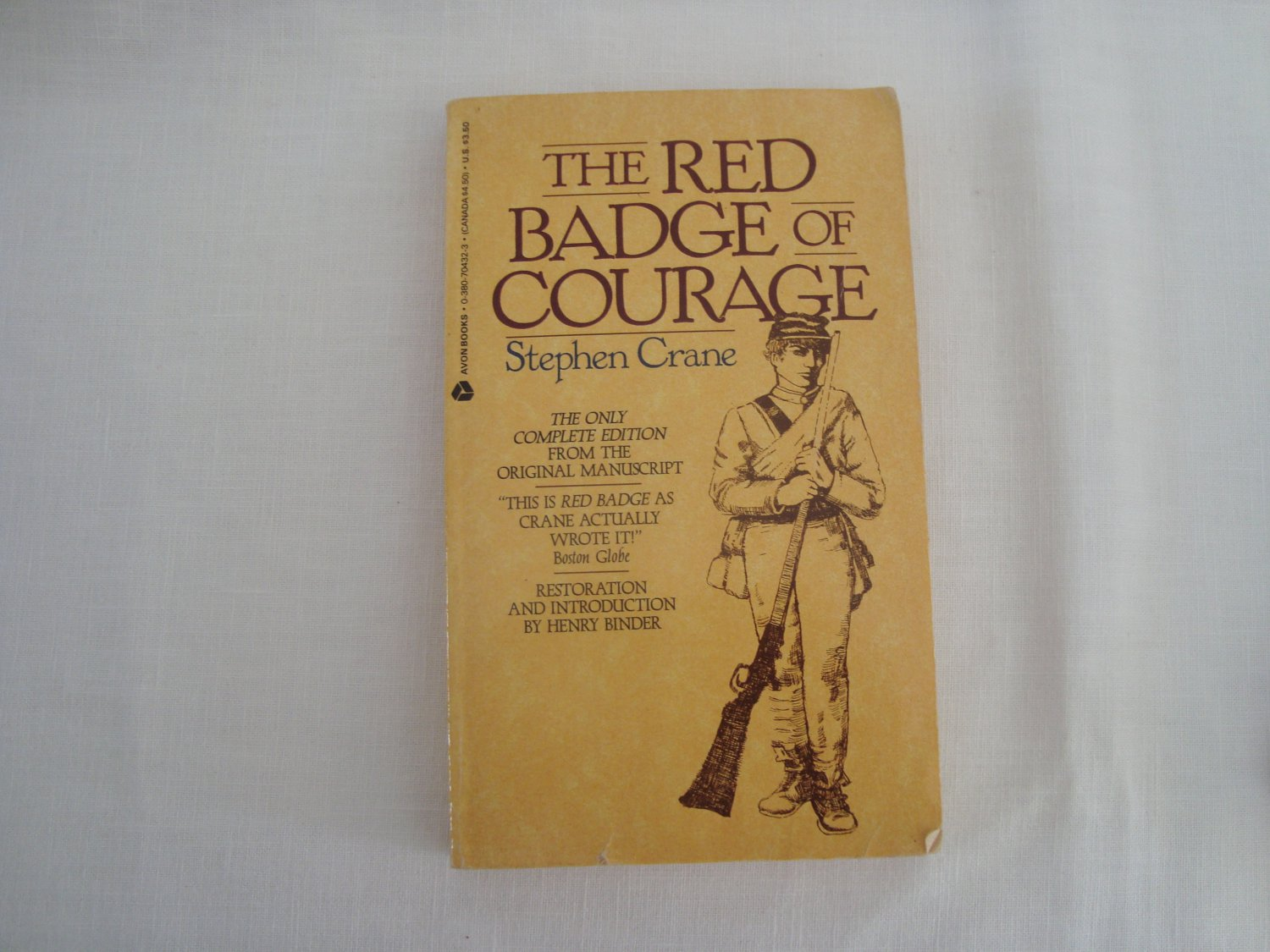 an analysis of the red badge of courage by stephen crane The red badge of courage is the the red badge of courage stephen crane buy book summary table of contents  all subjects book summary about the red badge.