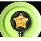 Star Shape Design Easy Multi Use Mini Non Stick Fry Pan Good for Pancake Egg