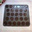 Macaroon Silicone 29x26cm Baking Mat Pastry Sheet Easy Use Baking Utensil