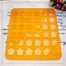 Macaroon Silicone 28.5x26 PLUM FLOWER Baking Mat Cookies Sheet Easy Use Utensil