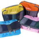 4 Packing Squares 2 Size 4 Different Color Multiple Organizing Travel Packing Pouch Easy Use