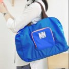 BLUE Color Multiple Use Fold-able Travel Bag Good for Shopping & Daily Use Bag