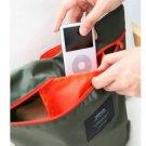 GREEN COLOR Multiple Purpose Organizer Bag Nylon Pillow Bag with Handle