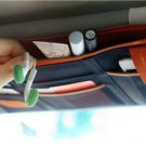 NAVY BLUE COLOR Multiple Purpose SUN VISOR POUCH CAR USE Easy Install Organizer Bag