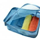 Packing Squares 30 X 20 x 13 cm SKY BLUE Color Multiple Organizing Easy Use Fold-able Travel Pouch