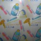 Colorful BARBER SHOP Cute Design 180x180cm PEVA Shower Curtain Cool Design