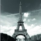 EIFFEL TOWER PARIS Design 180 x 180 cm Bathroom Use Polyester SHOWER CURTAIN SET