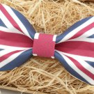 UK FLAG BOW TIE Country Flag Design BOW Good for Wedding Party Casual Easy Use
