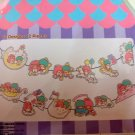 LITTLE TWIN STARS 12 Design Paper Card Letter Banner Decoration Sticker DIY Set
