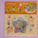 POMPOMPURIN Sanrio Original Kawaii Stickers Sack Sticker Flakes Cartoon Sticker