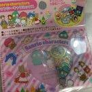SANRIO Different Character PINK Set Original Kawaii Stickers Sack Sticker Flake