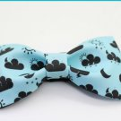 BOW TIE WEATHER ICONS BLUE Color Cartoon Deign Nice Gift Wedding Party Casual