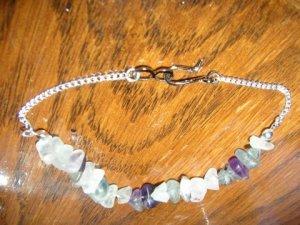 Mid Purple Chips Bracelet