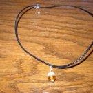 Two Tone Orange Necklace