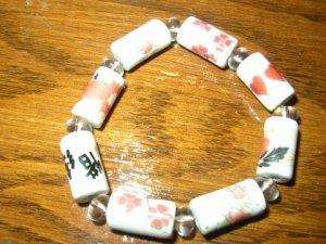 Asian Ceramic Bracelet